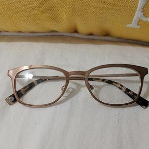 Rose Gold metal frames NWOT